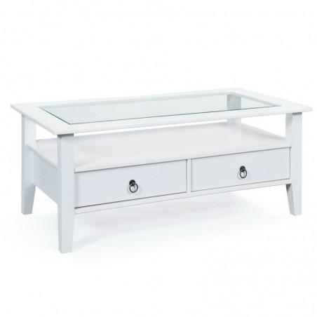 Tavolino da salotto Lavanda grande - bianco