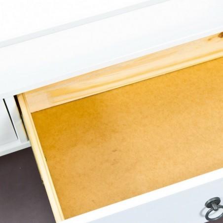 Tavolino da salotto Lavanda grande - bianco - dettaglio 1