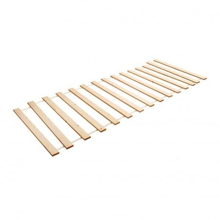 doghe in legno Divano Letto Estraibile Double Bianco