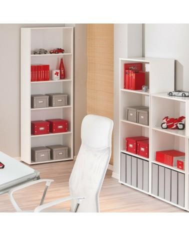 Ambiente Libreria Series Bianco Grande