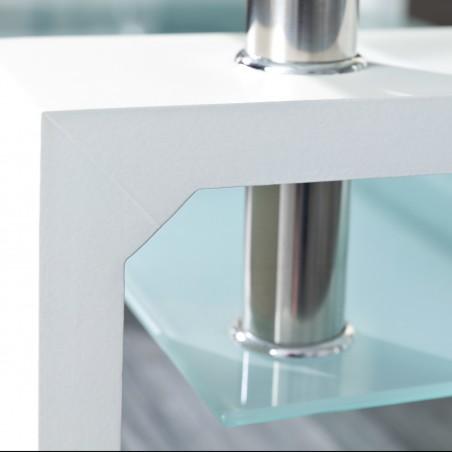 dettaglio Tavolino da Salotto Light Bianco