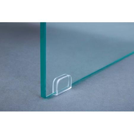 Dettaglio vetro Tavolino Granchietto