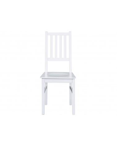 Sedia bianca in legno Hakon moderne