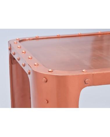 Tavolino Copper Rame artigianale