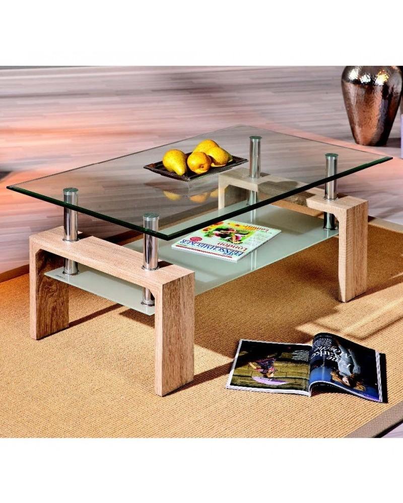 Tavolino da Salotto Light Rovere