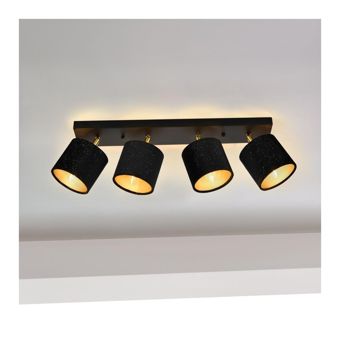 Faretti E Spot Da Soffitto lampade spot a soffitto faretti con 4 luci led