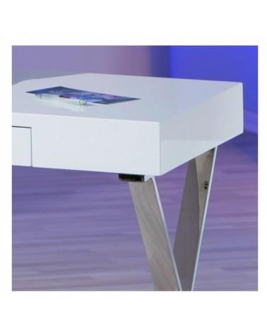 dettaglio Piano Bianco laccato scrivania design
