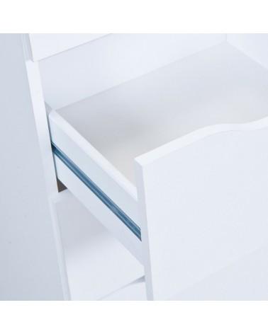 Cassettiera Beton Bianco 5
