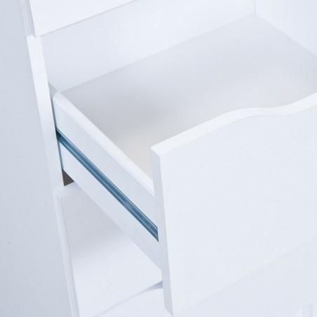 Comodino Beton Bianco 5