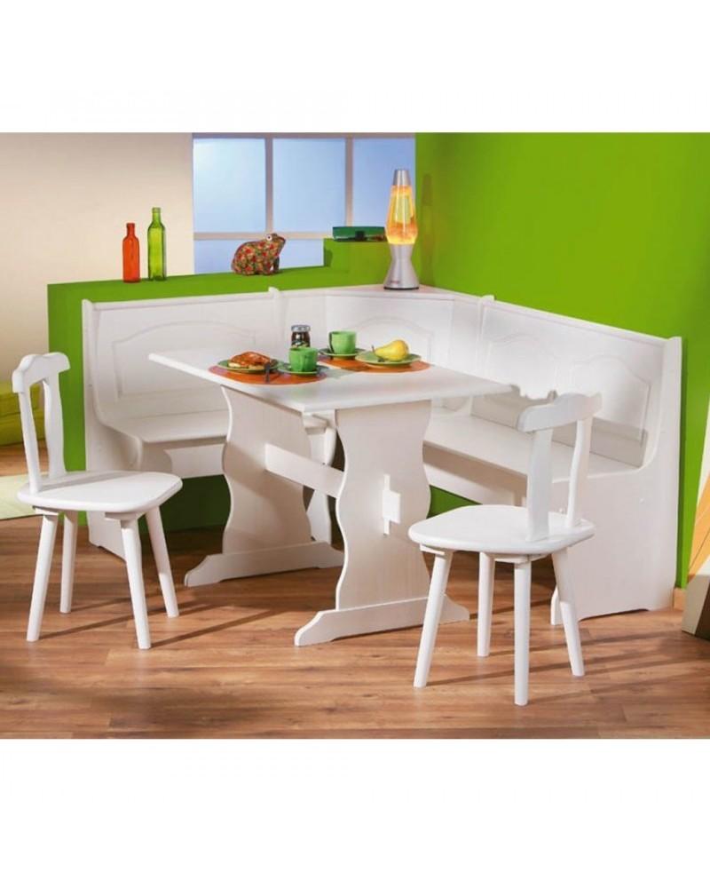 Verniciare Un Tavolo Di Legno set holiday bianco, pino naturale o bianco e noce
